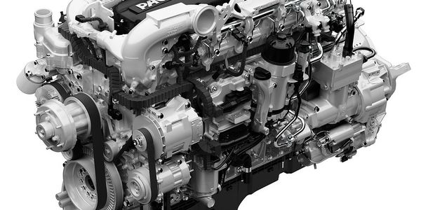 The Paccar MX-13 diesel engine is certified to use B20 biofuel in the U.S. Biofuel capable unit...
