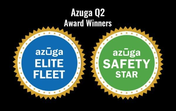 To establish the ranking, Azuga analyzed over 100,000 drivers covering 500+ million miles in Q2, and drivers were scored on three indexes: Safety, Productivity and Hard Work. - Image courtesy of Azuga.