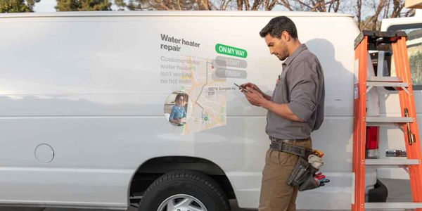Customers can access vehicle near-real-time location information either via an iOS or...