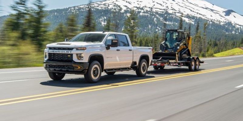 At 6.3%, the Chevrolet Silverado 2500HD took second as the truck model most likely to exceed...