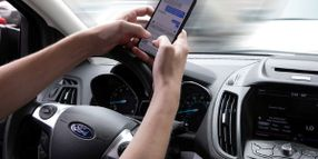 Distracted Driving Causes 14% to 17% of All Crashes