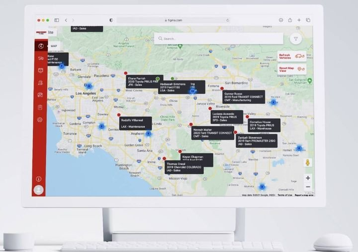 The new service brings fleet customers enhanced insight into vehicle health and maintenance, location and idling, and driver behavior. - Image:Discount Tire