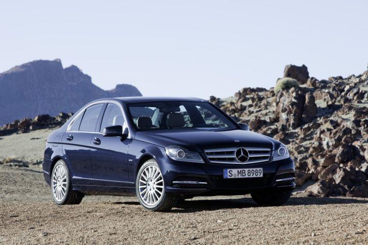 Mercedes-Benz Introduces Restyled 2012 C-Class Sedan