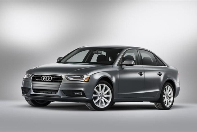 The 2013-MY Audi A4.
