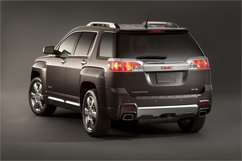 The new Terrain Denali will feature a programmable power liftgate.