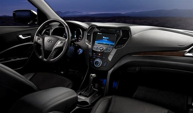The Santa Fe comes with four different infotainment system options.