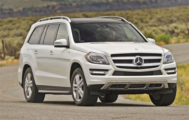 The 2013-MY Mercedes-Benz GL.