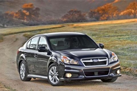The 2013-MY Subaru Legacy.