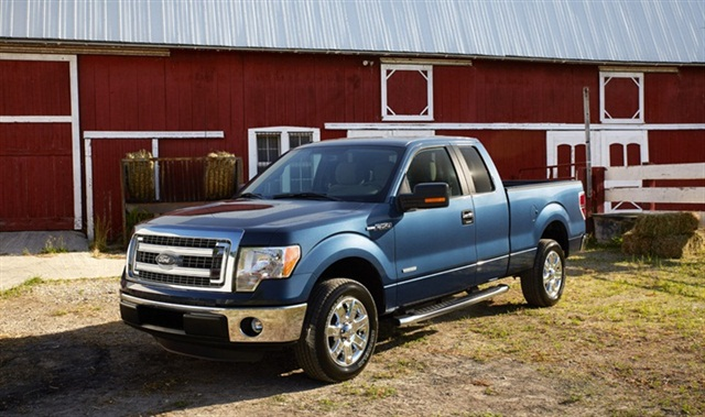 The 2013-MY Ford F-150.