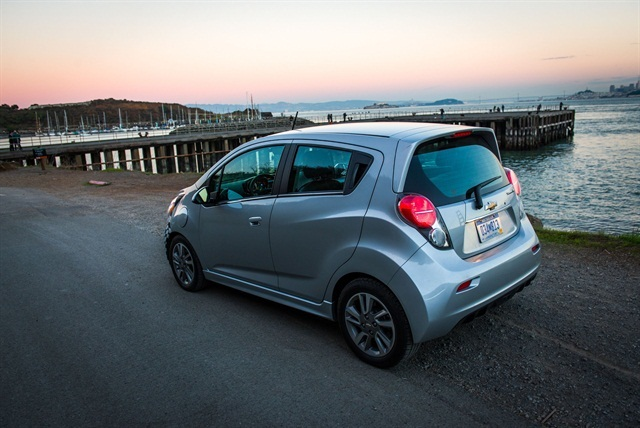 The 2014-MY Chevrolet Spark.