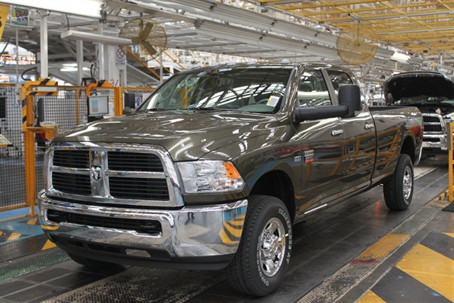 The Ram 2500 CNG truck.
