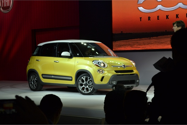 Photo by Greg BasichThe Fiat500L Trekking.