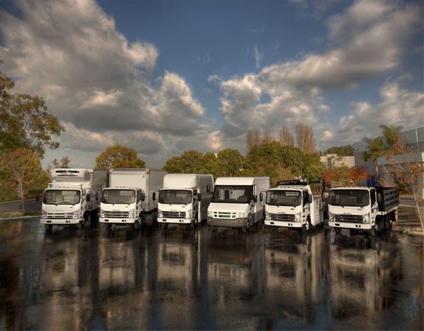 Isuzu commericial trucks