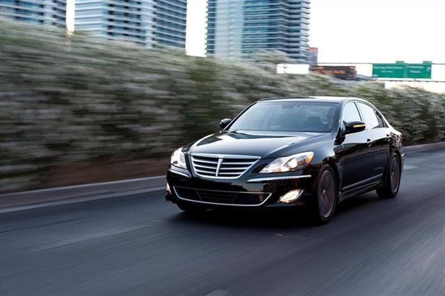 The 2013-MY Hyundai Genesis