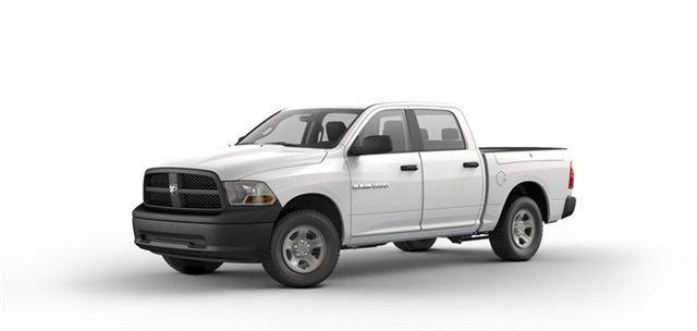 The new Crew Cab version of the Ram 1500 Tradesman.