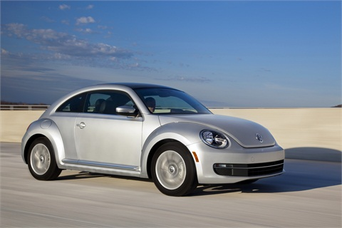 2013-MY Volkswagen Beetle TDIClick picture for a photo gallery.