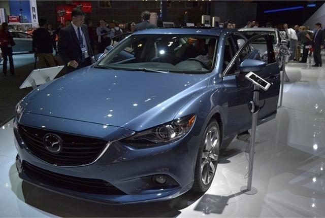 The 2014-MY Mazda6 sedan.
