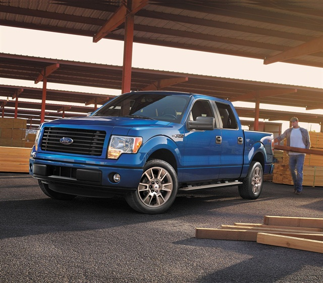 2014 Ford F-150 STX SuperCrew. Photo courtesy of Ford.