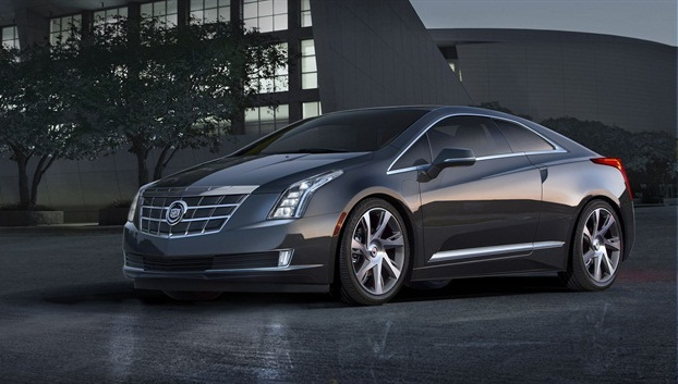 The 2014-MY Cadillac ELR.