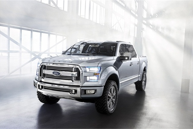The Ford Atlas Concept is designed to show new technologies the automaker is developing for use in its pickup truck products.