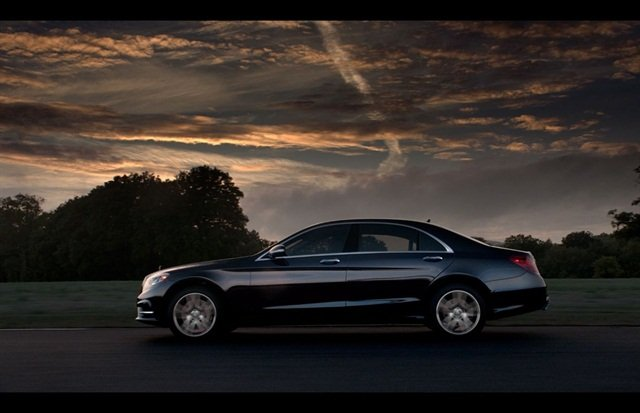 2014 Mercedes-Benz S550. Photo credit: Mercedes-Benz
