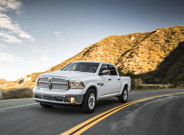 2014 Ram 1500 EcoDiesel. Photo credit: Chrysler.