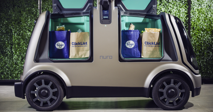 Kroger to Test Autonomous Vehicle Grocery Delivery - Operations