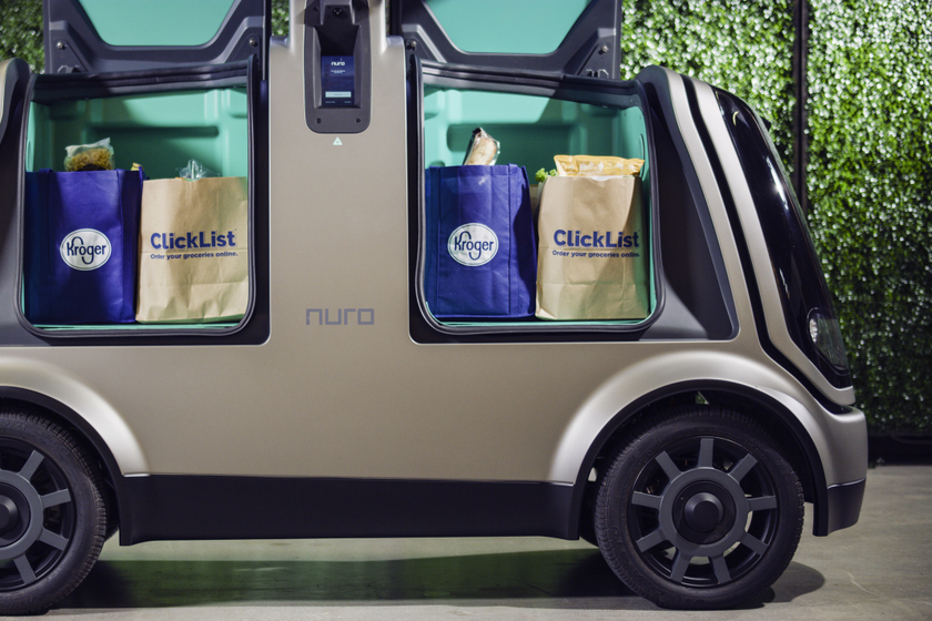 Kroger to Test Autonomous Vehicle Grocery Delivery