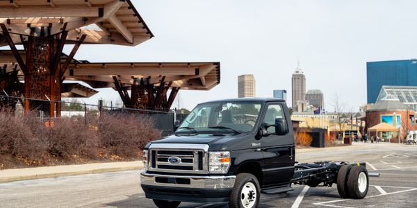 The 2021 Ford F-600 Super Duty Chassis Cab is now available to order.