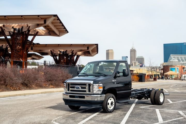 The 2021 Ford F-600 Super Duty Chassis Cab is now available to order. - Photo courtesy of Ford.