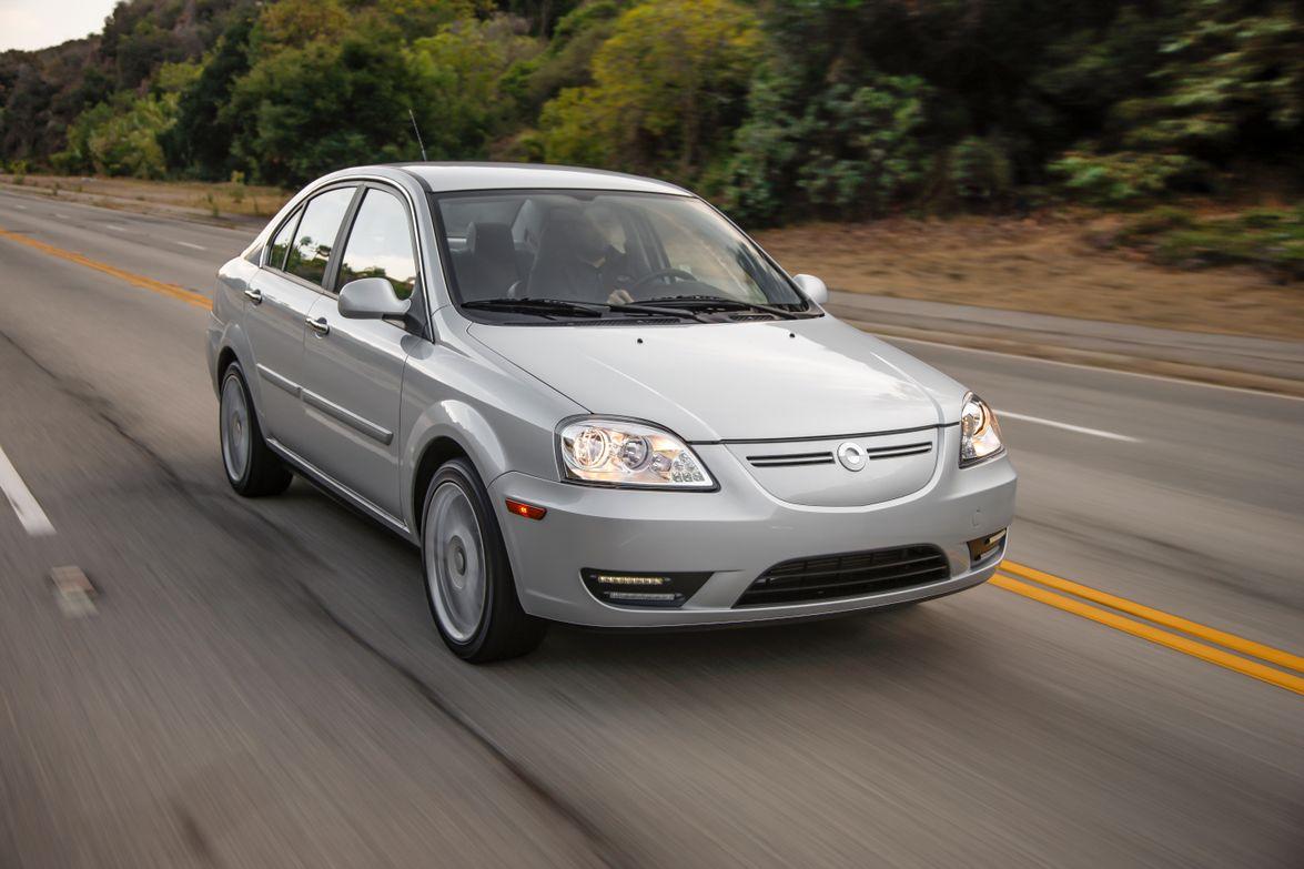 The 2012-MY CODA Sedan.