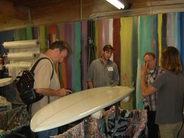 One stop was to Shaper Studios, a custom surfboard fabricator.