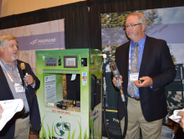 Mike Walters, vice president of safety and training at Superior Energy Systems, (left)...