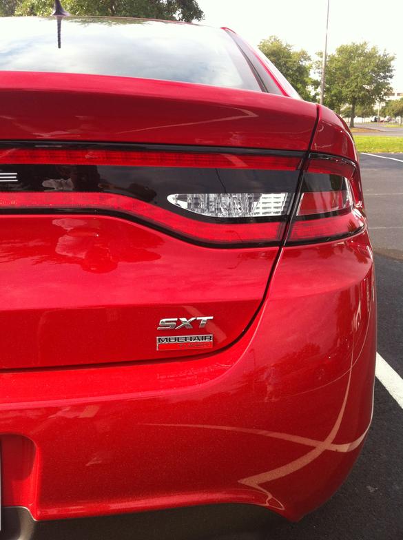 2013 Dodge Dart SXT model.