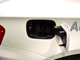 The Combined Charging System that includes a DC fast charging inlet.