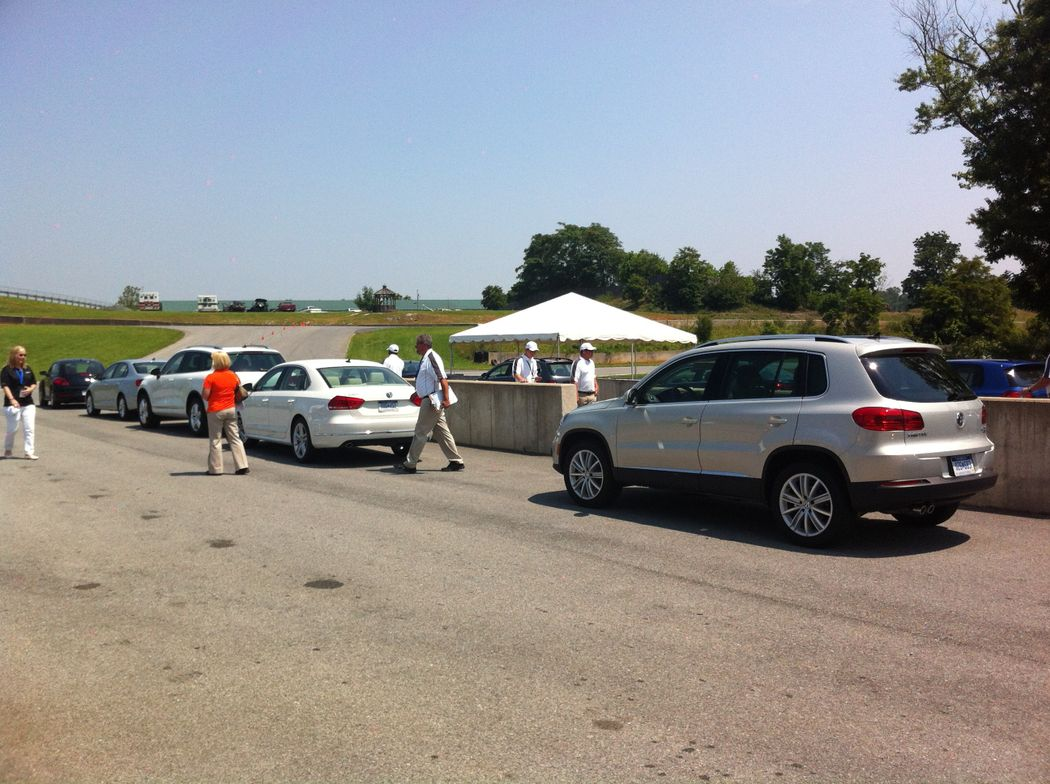 Ready to drive at Summit Point Raceway in Summit Point, West Va.