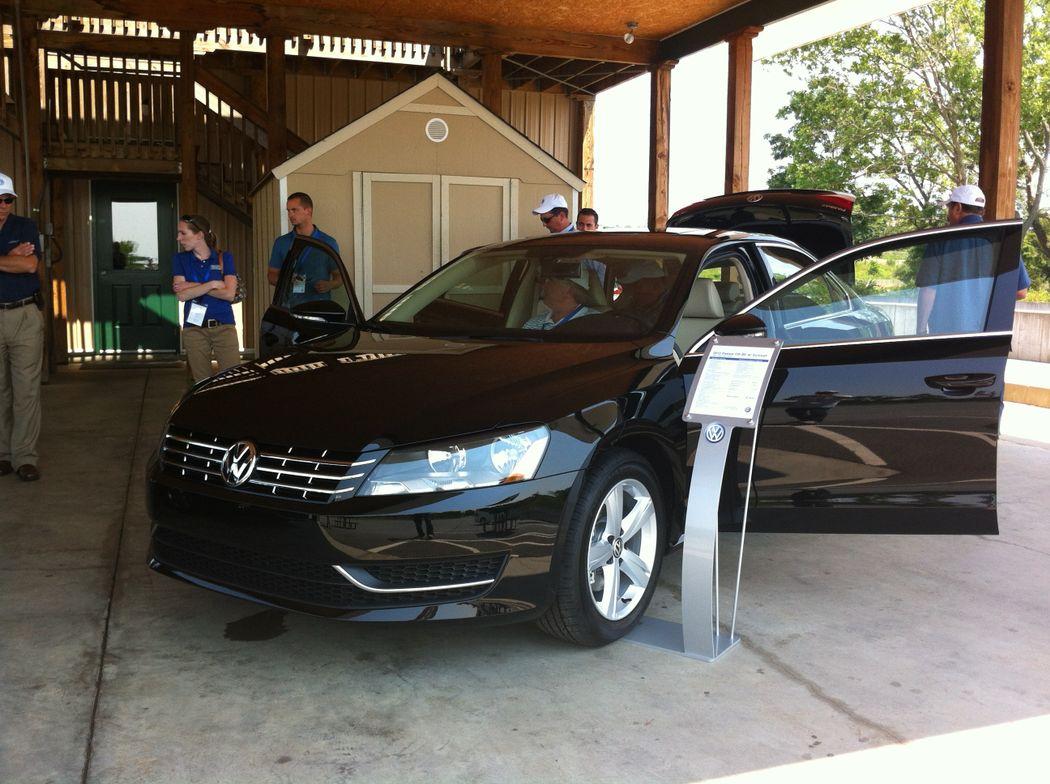 The 2012 VW Passat TDI achieves miles per gallon of 31 city/43 hwy.