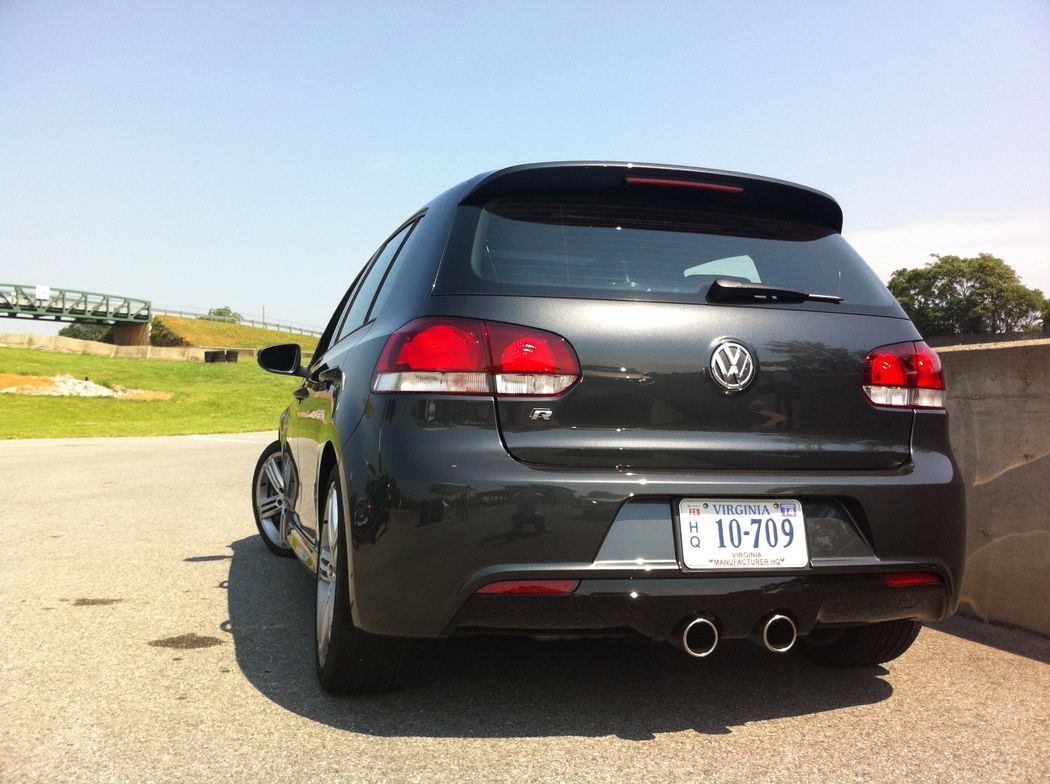 The VW Golf R epitomizes driving excitement.