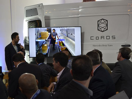 Mercedes-Benz's Recognition and Organization System, or CoROS, is explained. CoROS transforms...