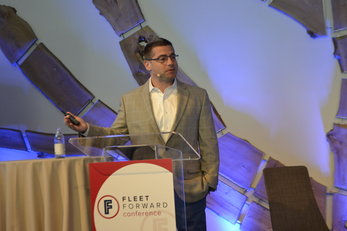 Ohad Zeira, vice president Fleet Ventures for Avis Budget Group, delivered a plenary address...
