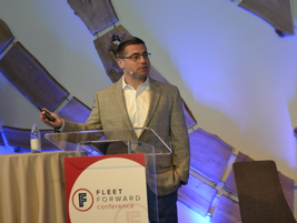 Ohad Zeira, vice president Fleet Ventures for Avis Budget Group, delivered a plenary address...
