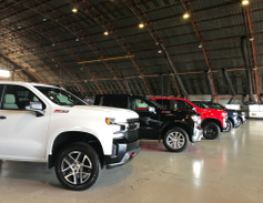 Chevrolet showcased the 2019 Silverado 1500 in five trims, including the fleet-friendly LT and...