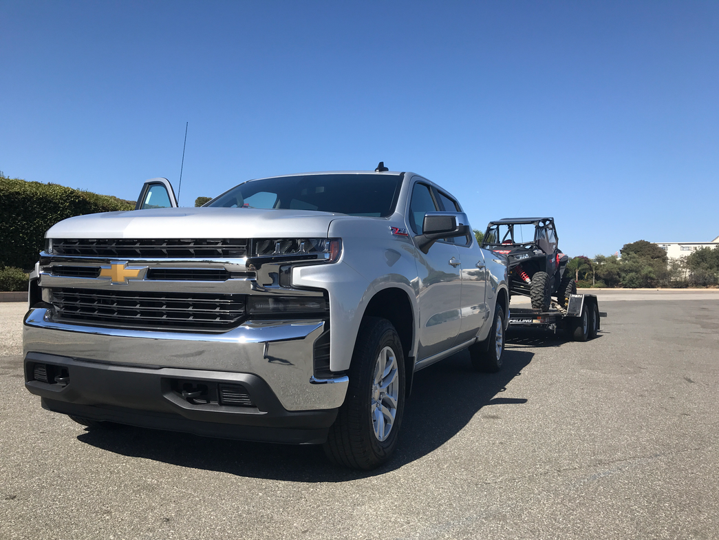 The 2019 Silverado is larger than the previous model, and up to 450 pounds lighter due to...
