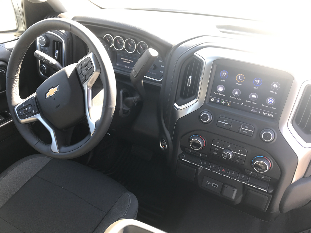 According to Chevrolet, every surface of the 2019 Silverado has been designed for function and...