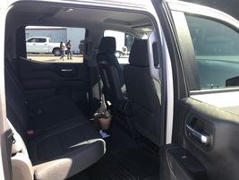 For added driver comfort, Chevrolet stretched the cab of its 2019 Silverado to offer an...