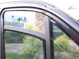 Bulletproof glass is part of an armoring package.