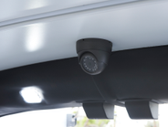 A surveillance camera system records the cargo, driver, and perimeter of the vehicle. Not...