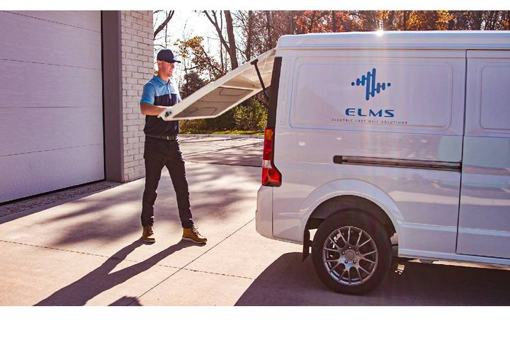 E-commerce still represents only about 15-18% of all retail purchases, indicating a strong upside for potential growth in the last-mile delivery market. - Photo: ELMS