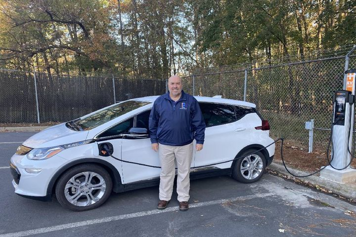 Joe Clark, fleet management director for the City of Durham, N.C., advises fleet managers to understand how long it takes to charge EVs and come up with a plan. - Photo: City OF Durham, N.C.