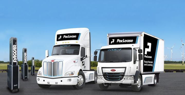 Unlike traditional gasoline- or diesel-powered units that can fuel up at any number of local stations, before leasing or renting an electric truck, you have to ensure you can keep it powered up and ready. - Photo: PacLease